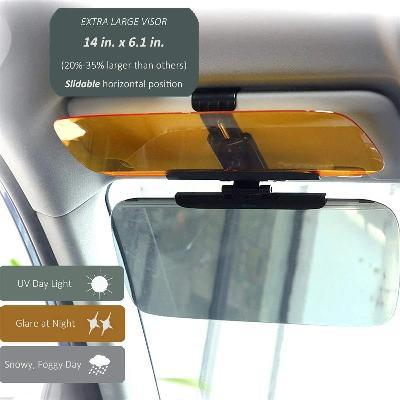 Image of Car Windshield Anti-Glare Visor Extender - Ampm.pk