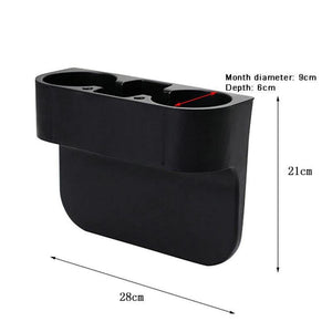 Seat Gap Filler with Cup Drink Holder