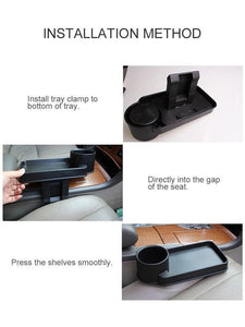 Car Cup Holder With Tray