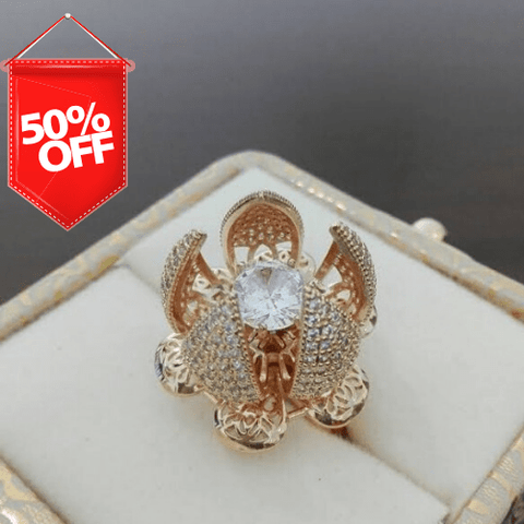 Image of Flower Bloom Ring - Ampm.pk
