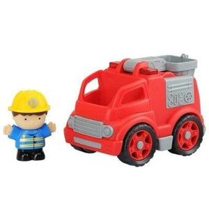 Playgo Mini Fire Truck - Ampm.pk