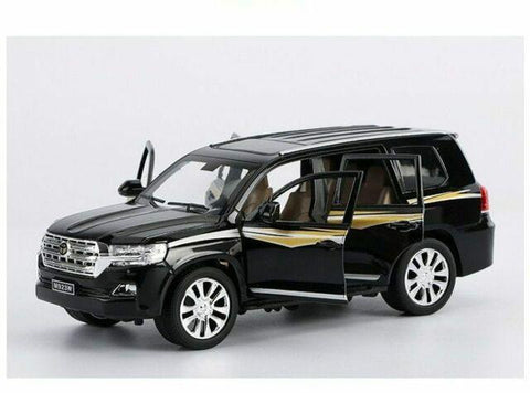 Metal Body Land Cruiser Prado 1:24 Scale (With Light And Sound)