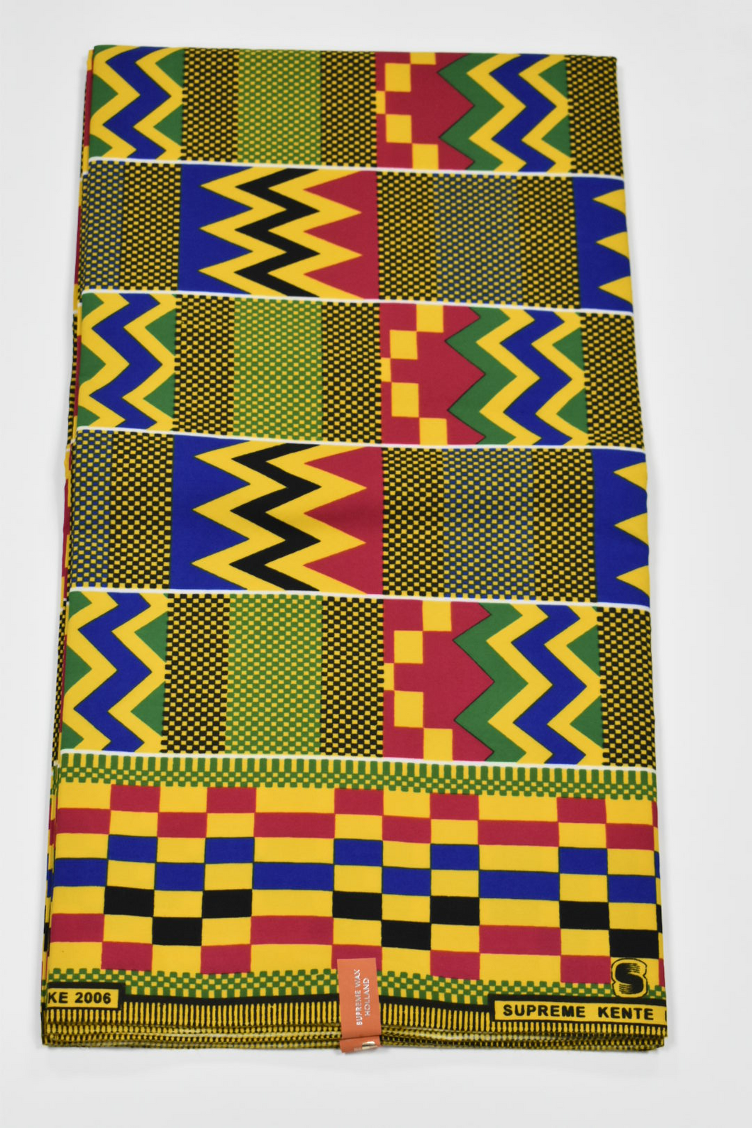 Kente Print Ankara - 6 Yards