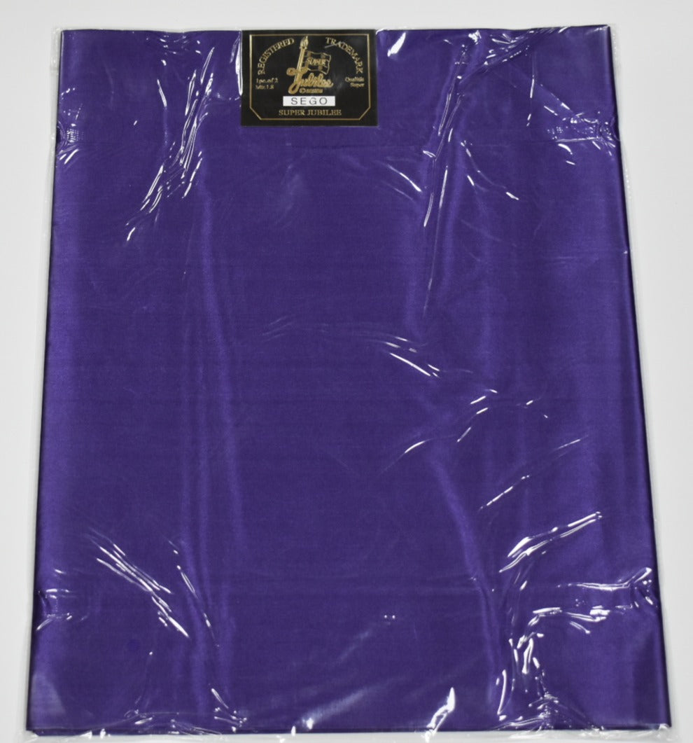 Purple Sego Headtie (2 Piece)