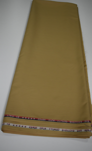 Gold Senator / Suiting Fabric - 5 Yards