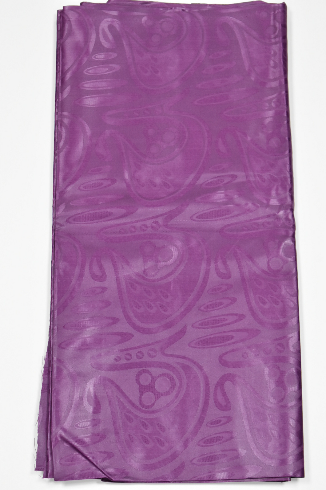 Plum Brocade - 5 Yards