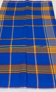 Royal Blue Plain George - 8 Yards