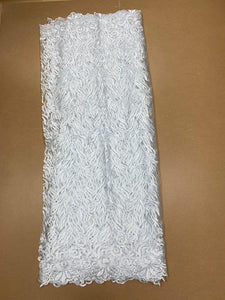White French Lace - 5 Yards