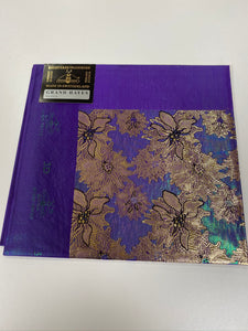 Purple 3D Grand Hayes Headtie