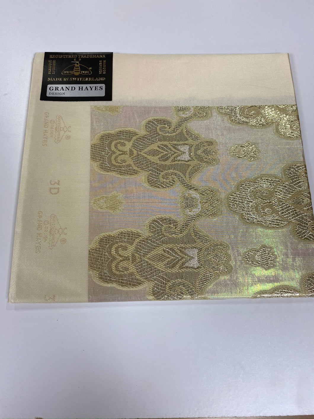 Light Gold 3D Grand Hayes Headties