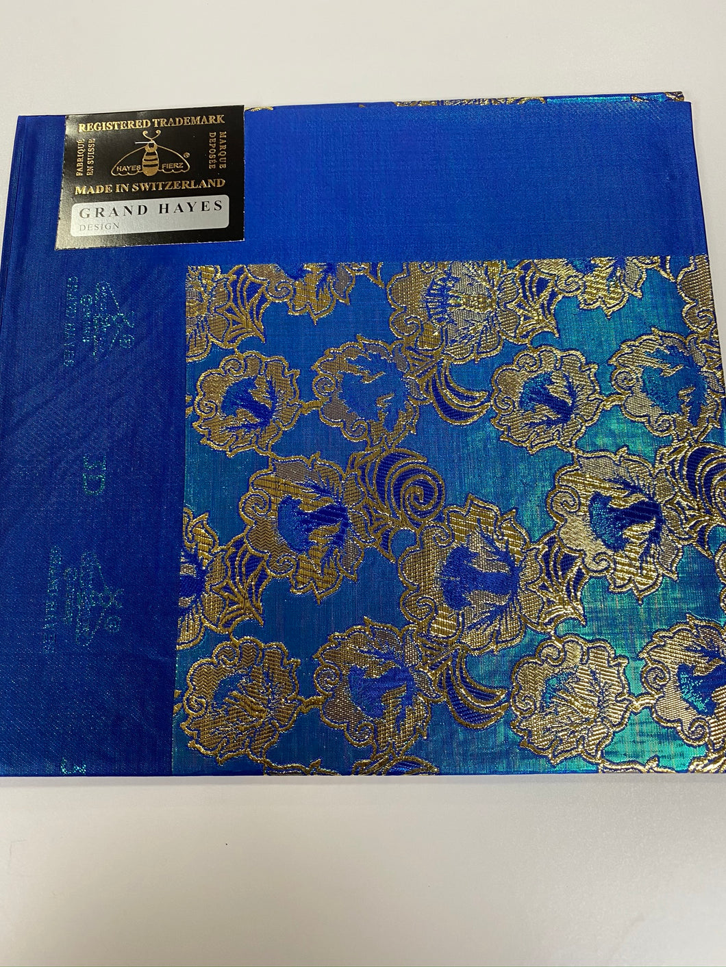 Royal Blue 3D Grand Hayes Headtie