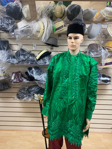 Green Urhobo Men's Top