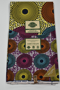 Multi-colour Ankara Print - 6 Yards