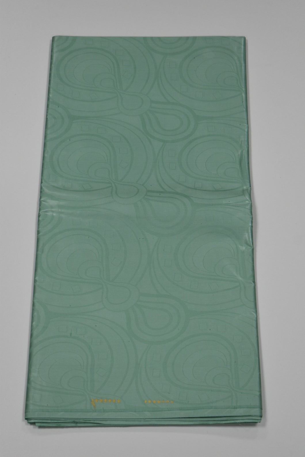 Aqua Green Brocade - 5 Yards