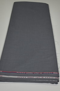 Grey Senator / Suiting Fabric - 5 Yards