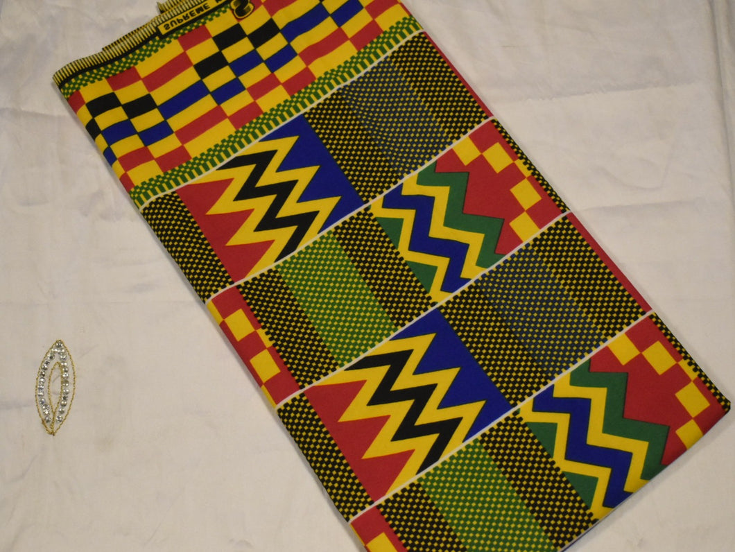 100% Cotton Kente Print - 1 Yard