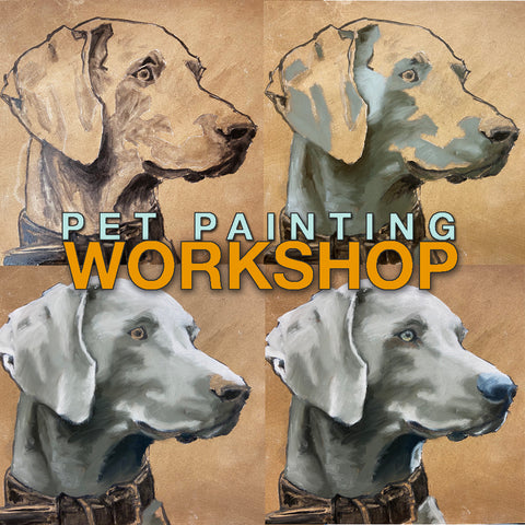 2 Day Pet Portrait Workshop