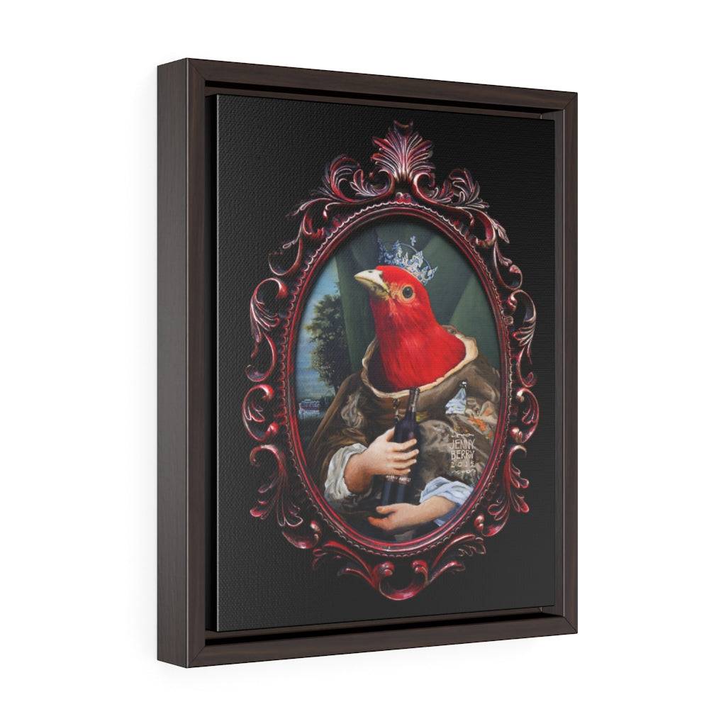 """The Red Queen"" Framed Print"