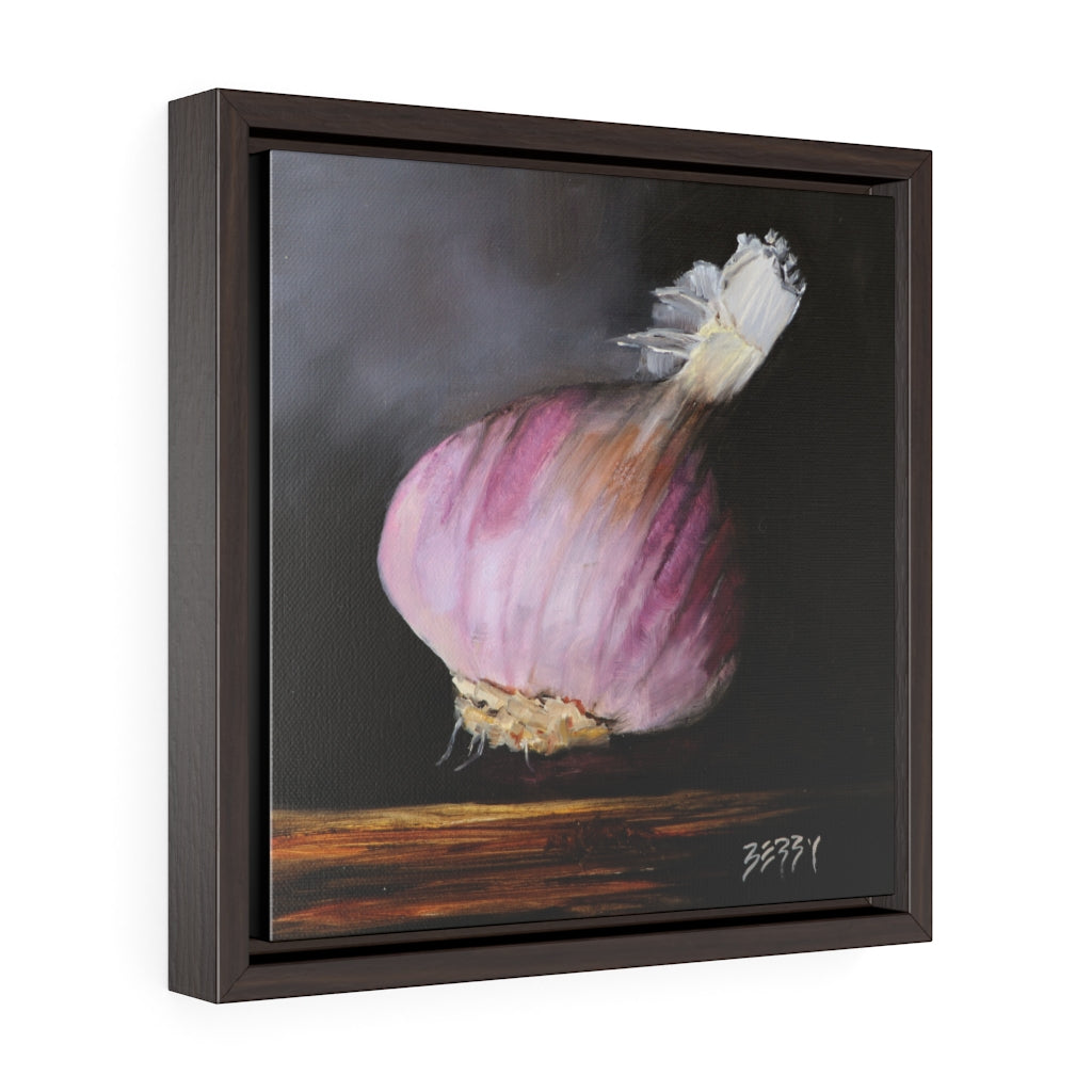 """Purple Garlic"" Framed Print"