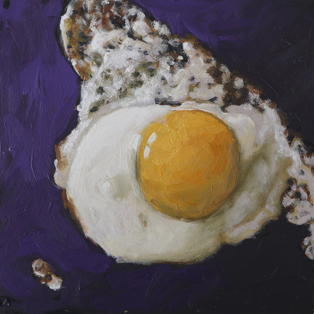 Fried Egg Original Painting