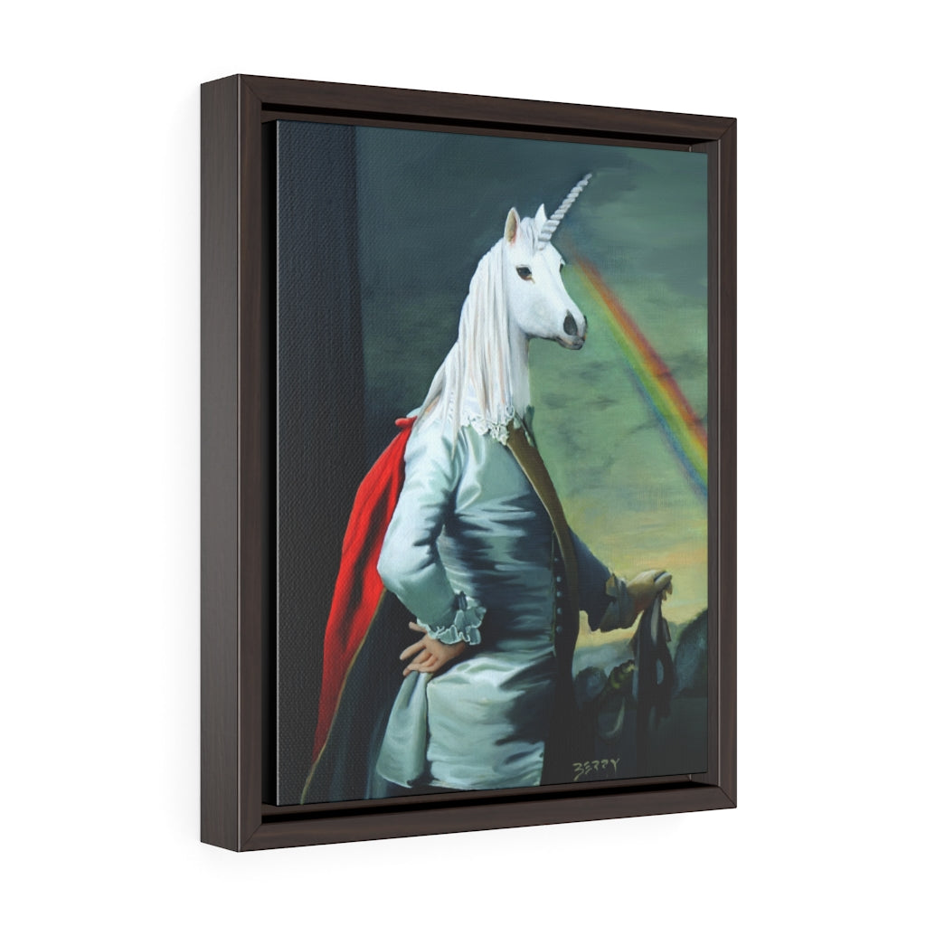 """The Viscount"" Framed Print"