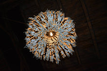 Chandelier from tampons
