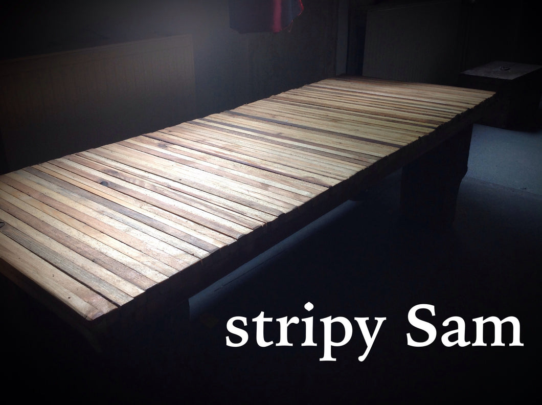 Stripy sam - coffee table