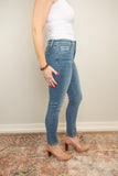 Flying Monkey Denim Crop High-Rise Extra Stretch Skinny - Lowercase - juniper & mae