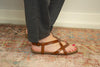 The Granola Sandal in Scotch - juniper & mae