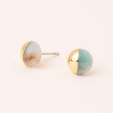 Scout Curated Wears Dipped Stone Stud Earring - Assorted Styles - juniper & mae