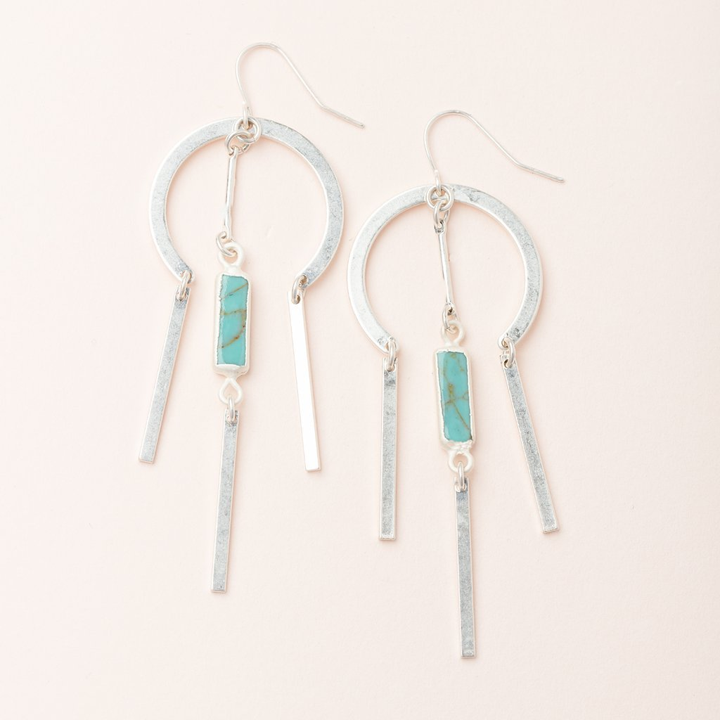 Scout Curated Wears Dream Catcher Stone Earring - Assorted Styles - juniper & mae