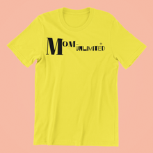 Load image into Gallery viewer, Mom-Unlimited Tee (Yellow)
