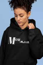 Load image into Gallery viewer, Mom-Unlimited Black Sweatshirt