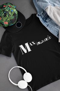 "Max-Unlimited ""A Dreamer's Tee"". (BLK)"