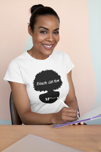 Load image into Gallery viewer, Black Girl Mom (White)