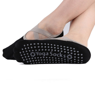 Sticky Bottom Workout Pilates Grip Sock - YogaLance