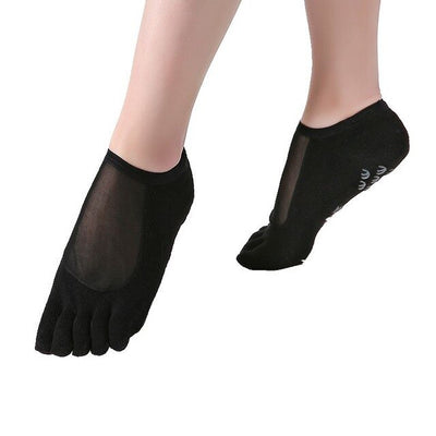 Socks Dots Pilates Transparent Silk - YogaLance