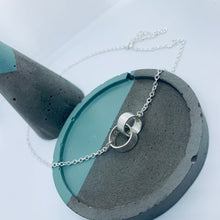 "Load image into Gallery viewer, Sterling Silver ""Hidden Message"" necklace"