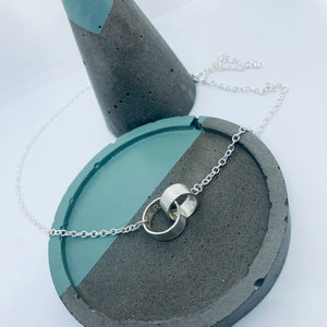 "Sterling Silver ""Hidden Message"" necklace"