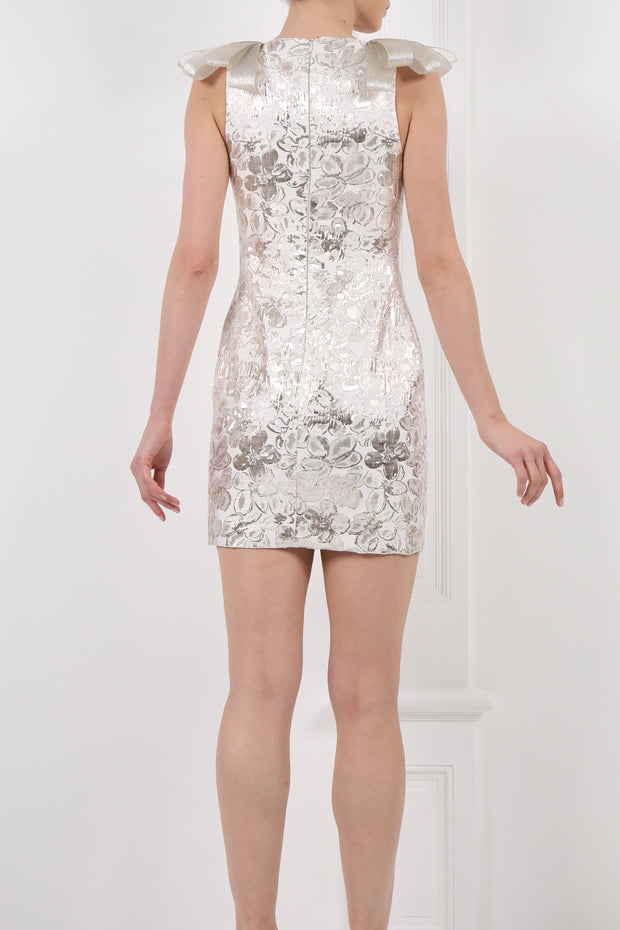 Metallic Short Dress