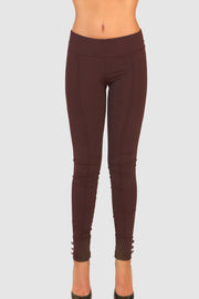 Low-rise stretch skinny pants
