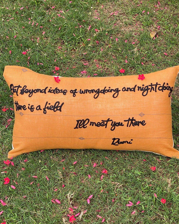 The Rumi Cushion 12X20""