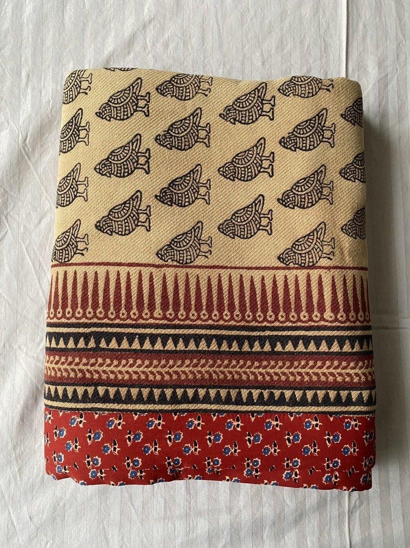 Grishma- Bagh printed cotton Khes