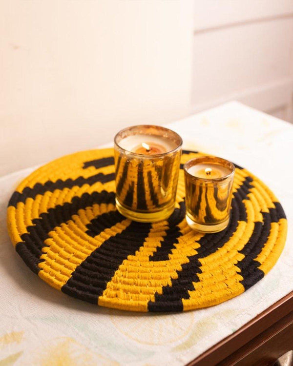 Sherni Tiger weave Sabai Placemats (Set of 2)
