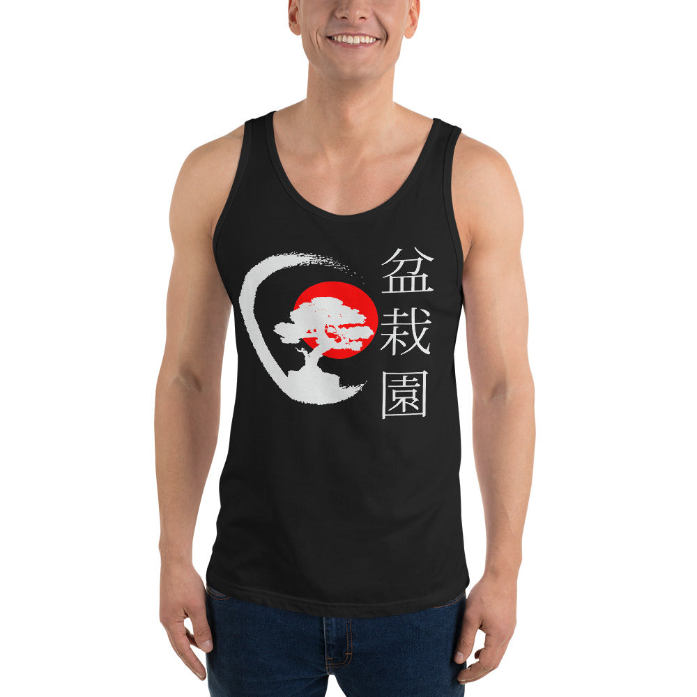 Red Sun Bonsai Tank Top