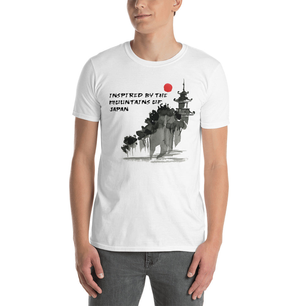 Inspired By The Mountains Of Japan T-Shirt