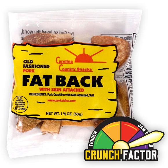 Fat Back Pork Skins