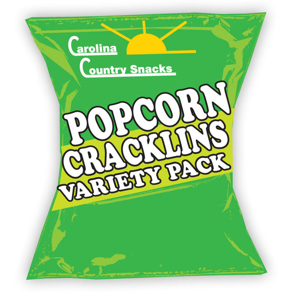 Popcorn Cracklin Sample Case