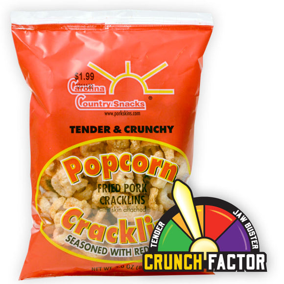 Red Pepper - Popcorn Cracklins - Case of 24