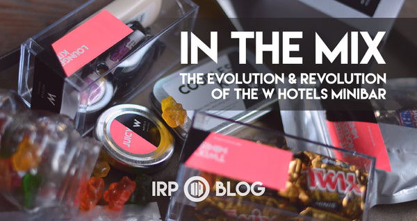 in The Mix: The Evolution & Revolution of the W Hotels Minibar